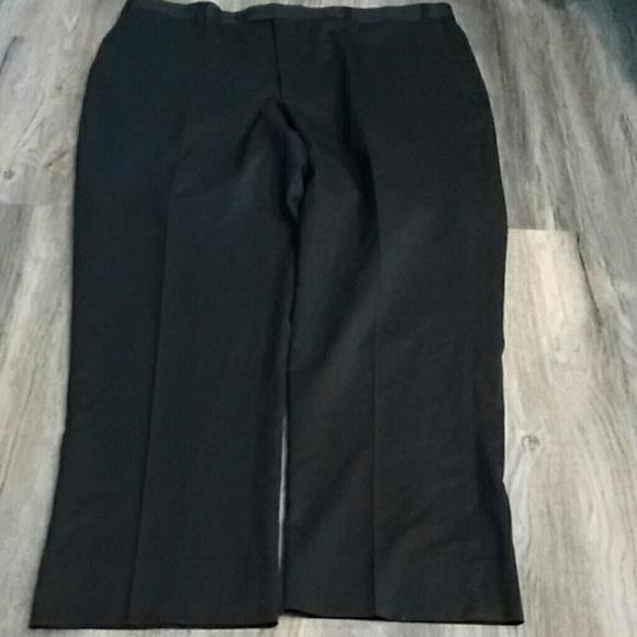 9f572008 Men's Wool flat front dress pants sz 42